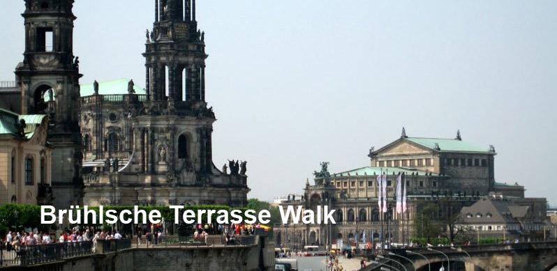 Brühlsche Terrasse Walk