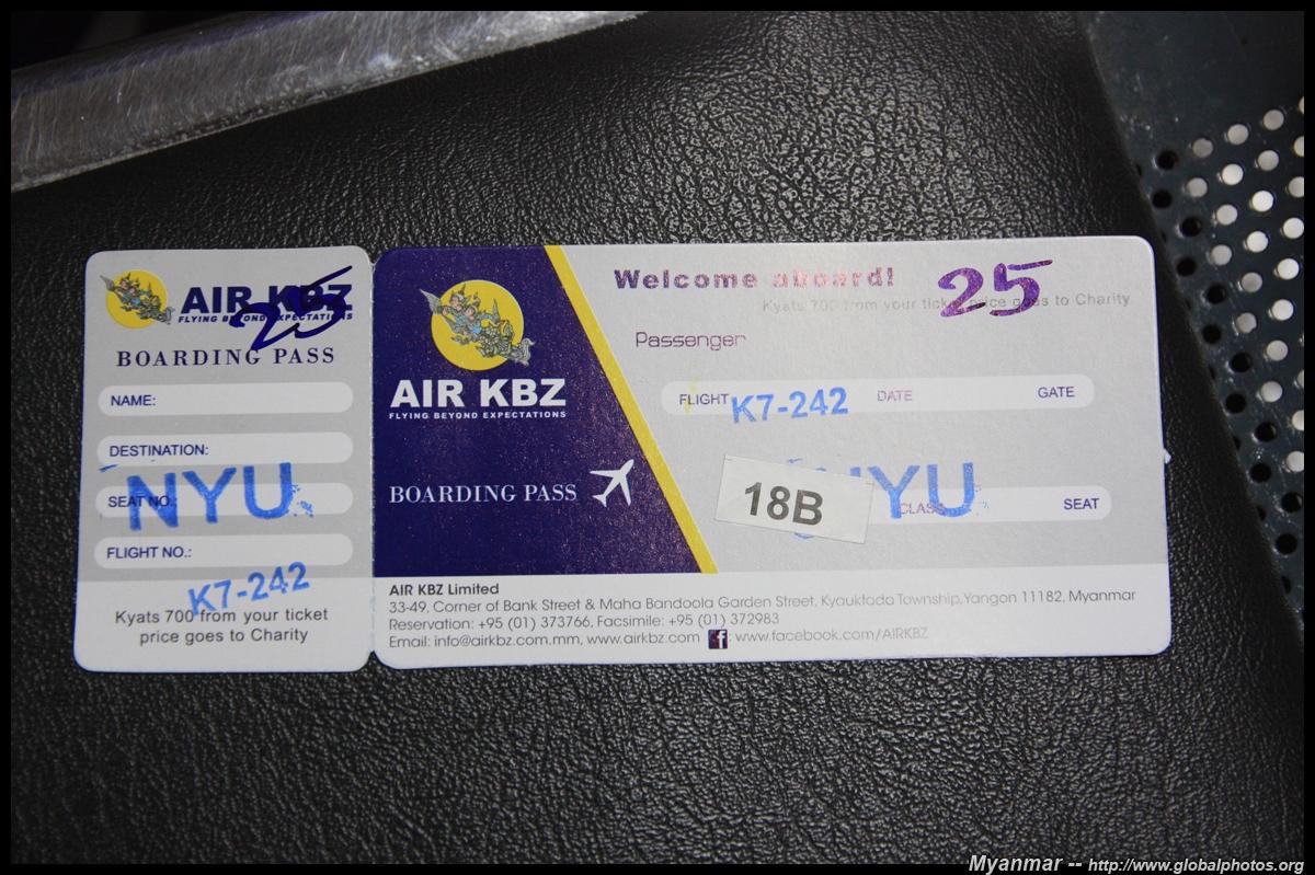 Flying Domestic in Myanmar - Day Trip to Bagan - FlyerTalk
