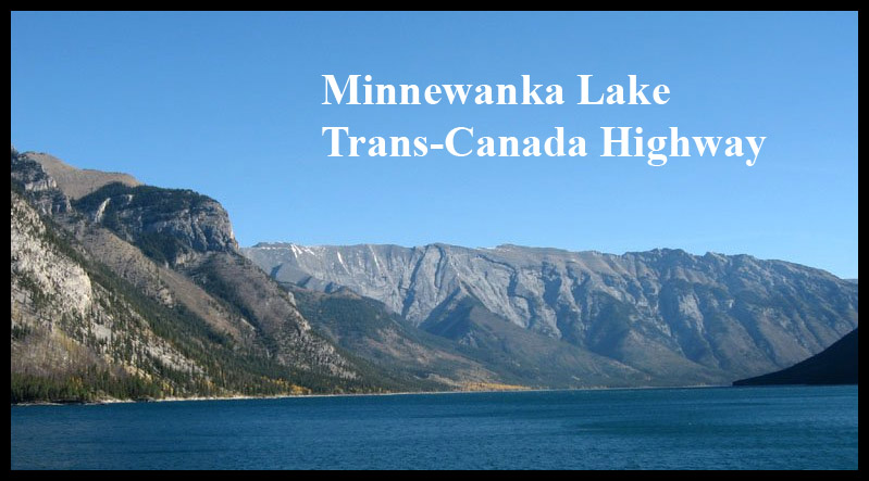 Minnewanka Lake Trans-Canada Highway