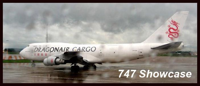 747 Aviation Showcase Cover