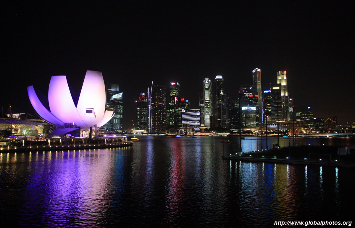 singapore   night photo gallery