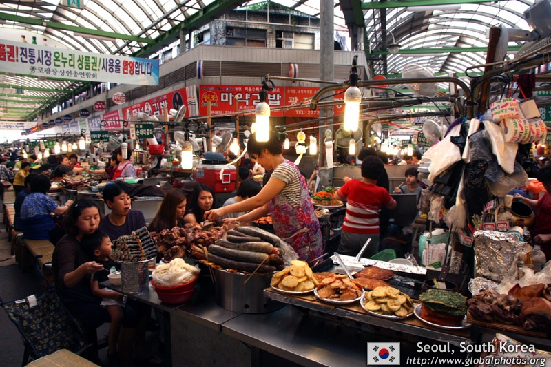 Hkskyline 39 s 2011 photos of seoul 39 s markets for Chicago wholesale fish market